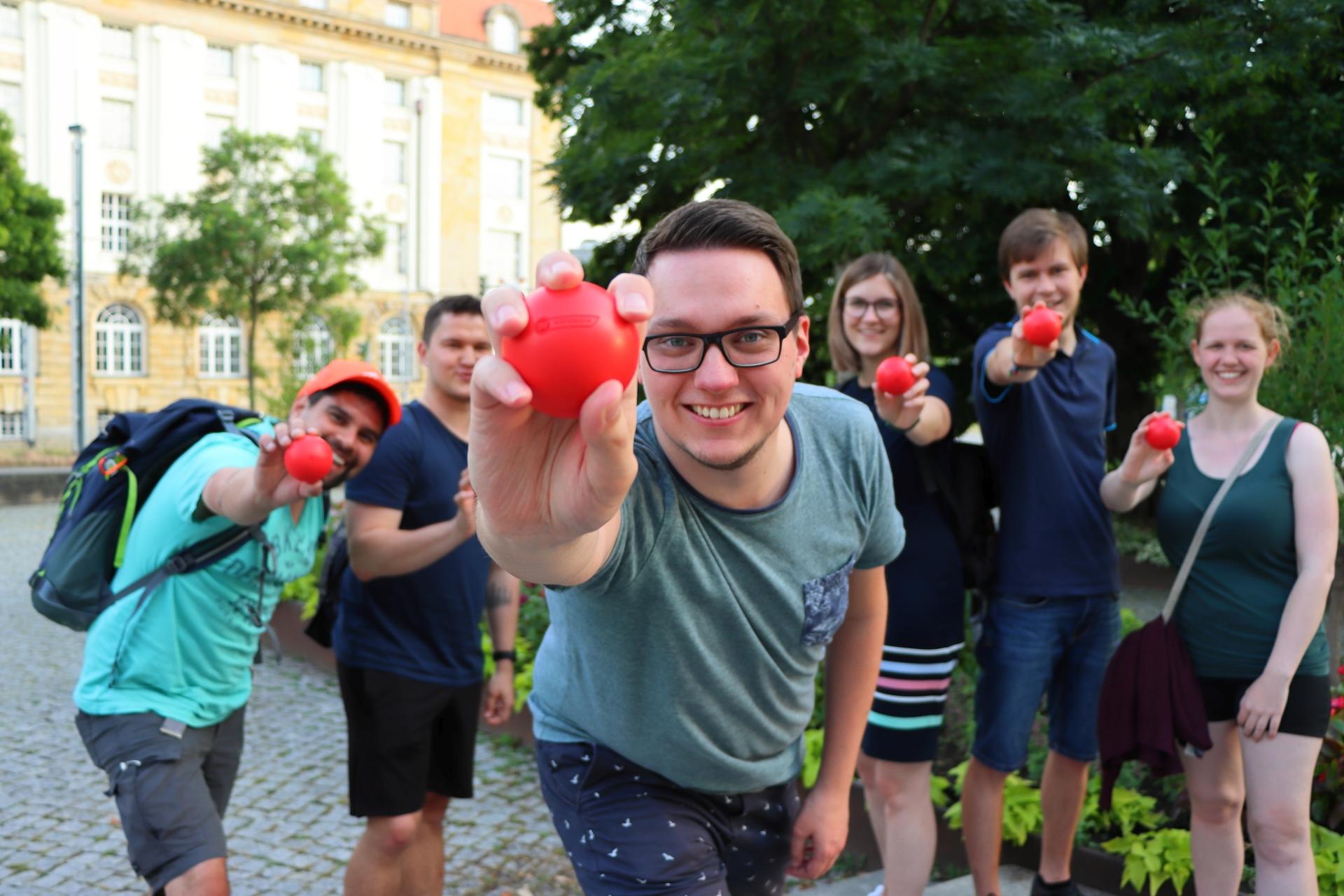 Orga-Team Ball